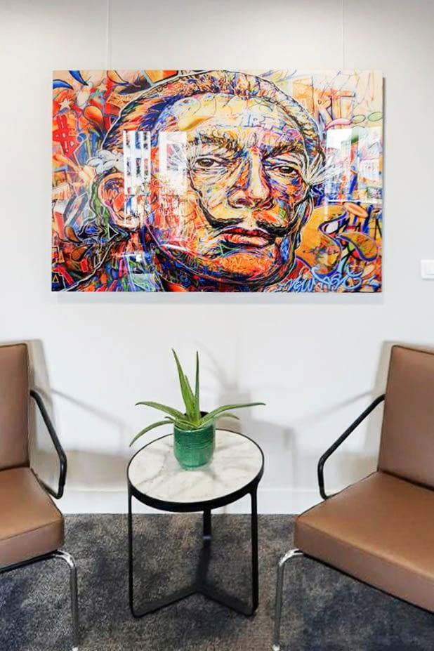 Vente et installation de photographies d'art Pixopolitan pour le cabinet d'avocats Degroux Brugère