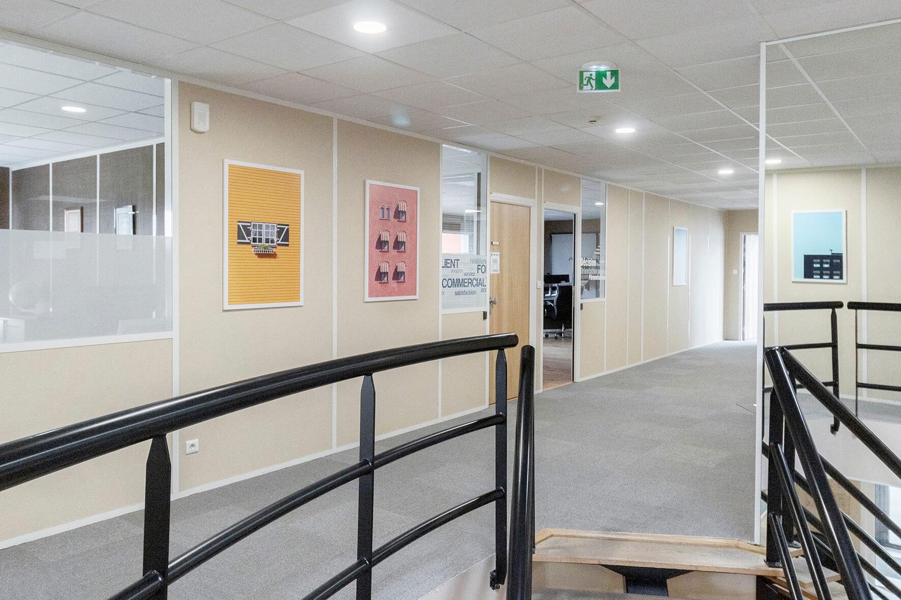 Vente et installation de photographies d'art Pixopolitan pour Emalec.