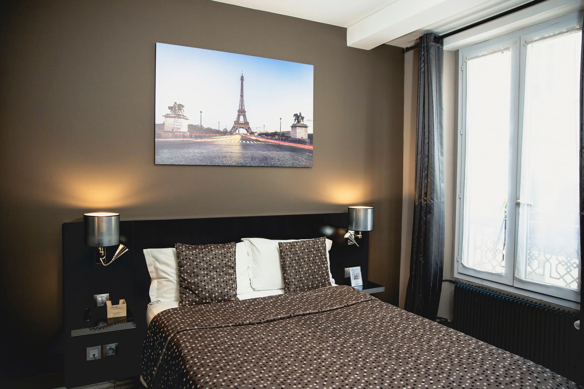 Vente et installation de photographies d'art Pixopolitan pour l'hôtel Jardin de Villiers