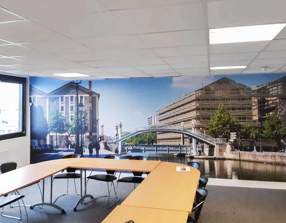 Vente et installation de photographies d'art Pixopolitan pour la société de mandataires judiciaires Fides Solutions