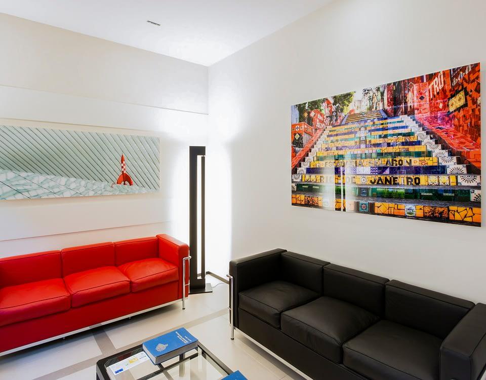 Vente et installation de photographies d'art Pixopolitan pour l'étude notariale parisienne Rochelois-Besins et Associés