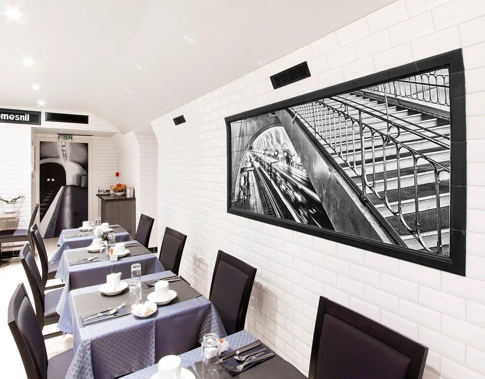 Vente et installation de photographies d'art Pixopolitan pour l'hôtel Park Lane Paris.