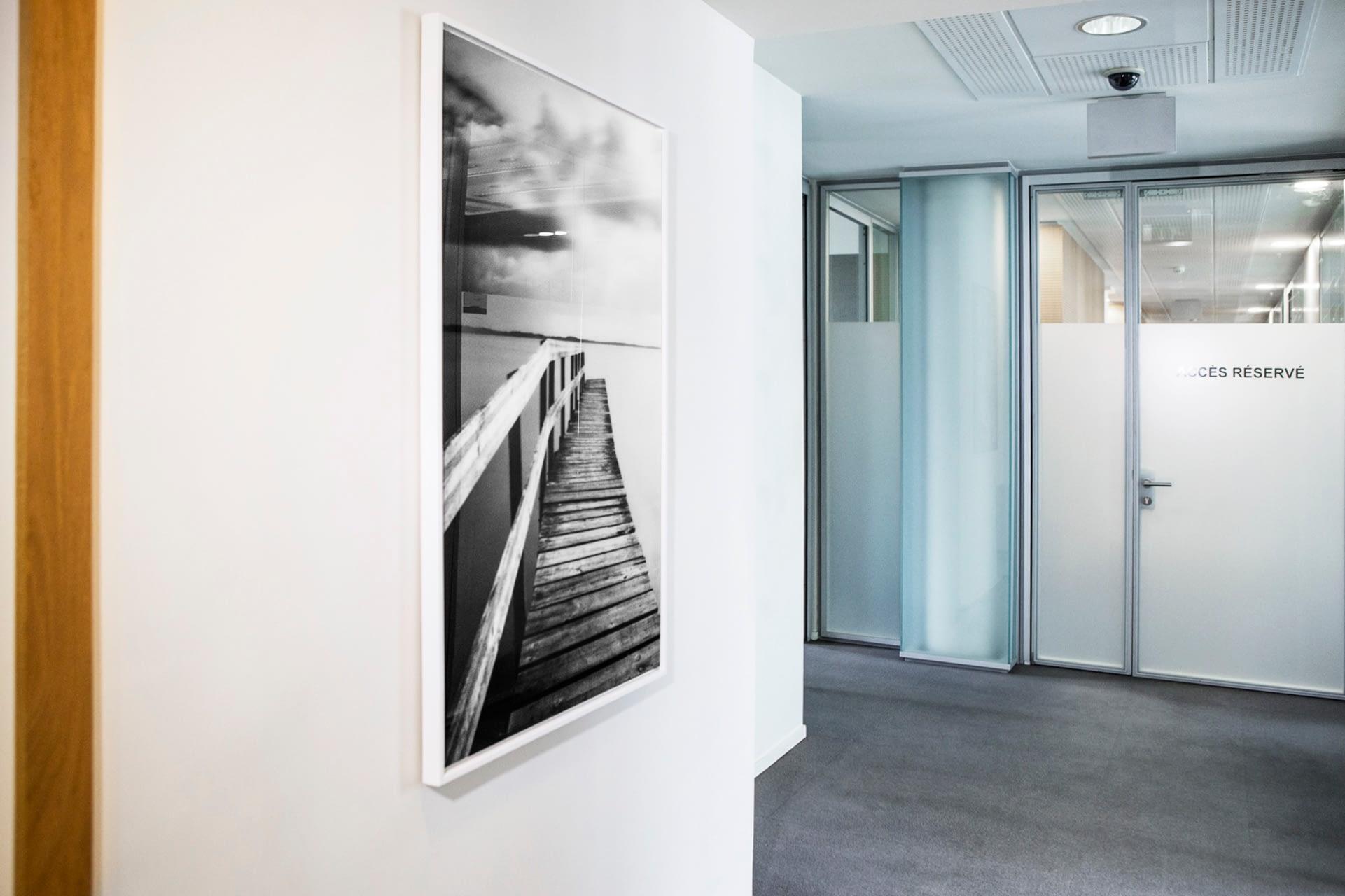 Vente et installation de photographies d'art Pixopolitan pour Equistone Partners Europe